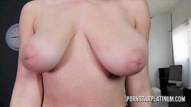 Ella Knox strips nude...