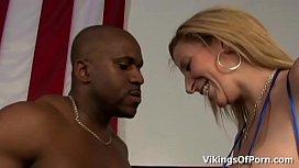 Interracial MMA hardcore fuck...