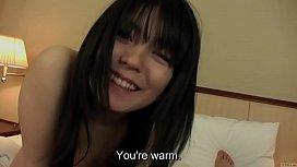 Subtitled uncensored pale Japanese...