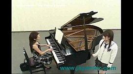 At A Piano Lesson...