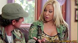 Real pornstar soldier...