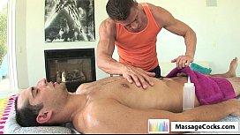Massagecocks Amateur Oily Massage...