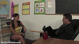 Teen Slut Loves Teacher...