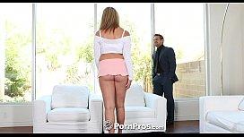 Busty teen Brooke Wylde gets bouncy on big dick - PornPros sunny leone xxx