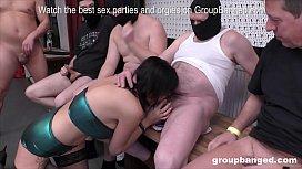 Slutty milf stripper gets...