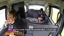 Female Fake Taxi Masked...