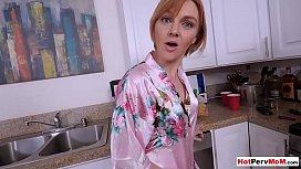 My busty redhead MILF...