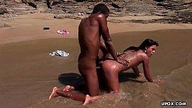 Fucking on the beach...