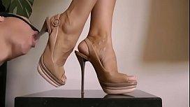Feet and shoe worship...