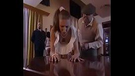 Girl Punished hard spanking...