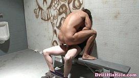 Athletic top enjoying bottoms...
