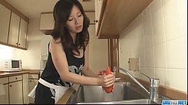 Hot milf Manami Komukai best blowjob ever! - More at javhd.net