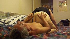 Licking grannt big pussy...