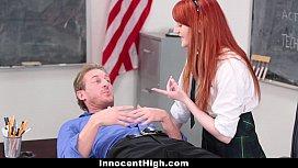 InnocentHigh - Cute Redhead Student...