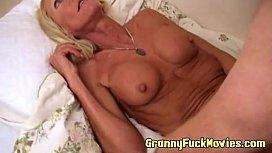 Fake tit granny pounding...