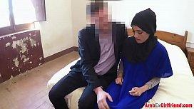 Shy Arab hotel guest...