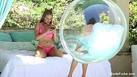 Nicole Aniston Hot lesbian...