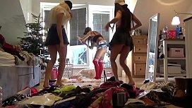 No Panties Teens Party...