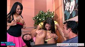 Hot brunettes Mariah Milano...