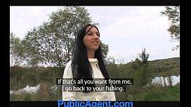 PublicAgent Brunette Hotty Gets...