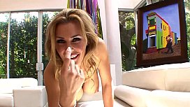 Pretty Blonde Stepmom Couch...