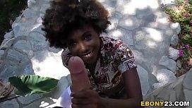 Ebony Teen Daizy Cooper...