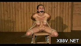 Muff torture in sadomasochism...