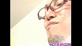 Tomoe Hinatsu rides boner...