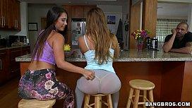 Double Booty goodness - Keisha Gray and Eva Lovia animada milf