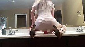 Dirty Talking Girl Bathroom...