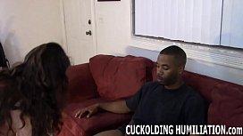 His big black cock...