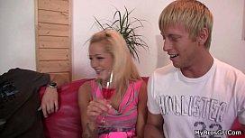 Czech blonde girlfriend shared...