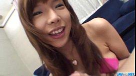 Serina Hayakawa engufling a...