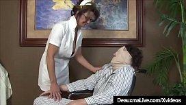 Busty Mature Nurse Deauxma...