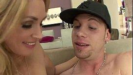 Hot aunt seducing nephew...