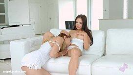 Sensual lesbian love by...