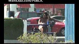 Humiliate girls in public...