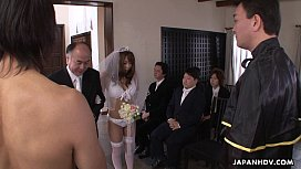 During her wedding she has to suck on a hard wiener adina rivers nude