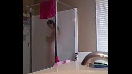 amazing teen in bath and  bedroom
