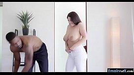 Huge juggs woman Angel...