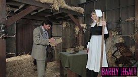 Amish babe Blair Williams...