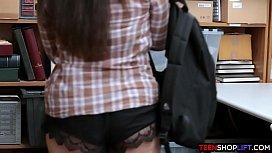 Latina teen thief caught...