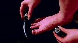 Gidget Paints Her Nails...