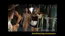 Brazil party orgy...