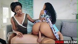 Ebony MILF Yasmine de...