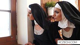 Bizzare porn with catholic...