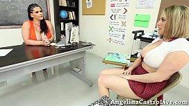 Teacher Angelina Castro teaches...
