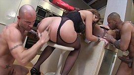 Interracial anal cream fart orgy with Milfs Valentina Ross &amp_ Klarissa Leone