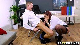Marc Rose drills Emma...