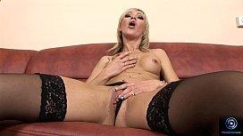 Betti Cane pleasures herself...